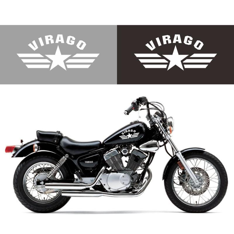 3D Carbon Motorcycle Gas Tank Sticker Fit Yamaha Virago XV 1000 1100 250 500
