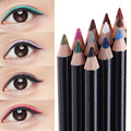 12 pçs/set Não-Fade Sombra Delineador lápis Maquiagem Colorida Professional sombra de Olho Cosméticos lápis terno