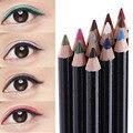 12 unids/set No Se Desvanecen de Sombra de Ojos Eyeliner lápices de Colores lápices de Ojos Profesional Cosméticos traje