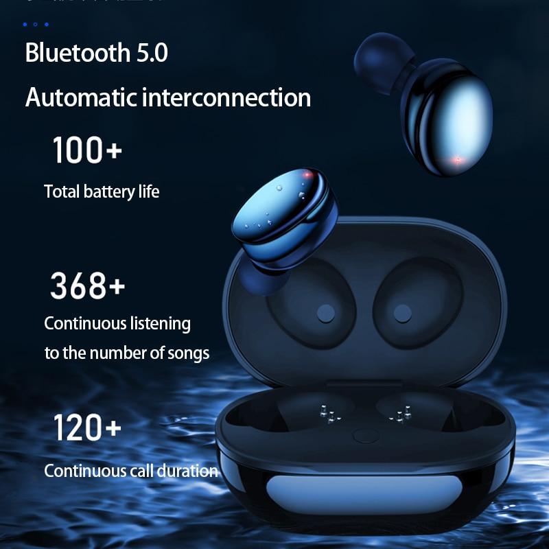 Nieuwe AirBuds Bluetooth Oortelefoon 5.0 True Draadloze Bluetooth Oordopjes Stereo Sport Oortelefoon Bluetooth Headset Voor Xiaomi samsung - 5