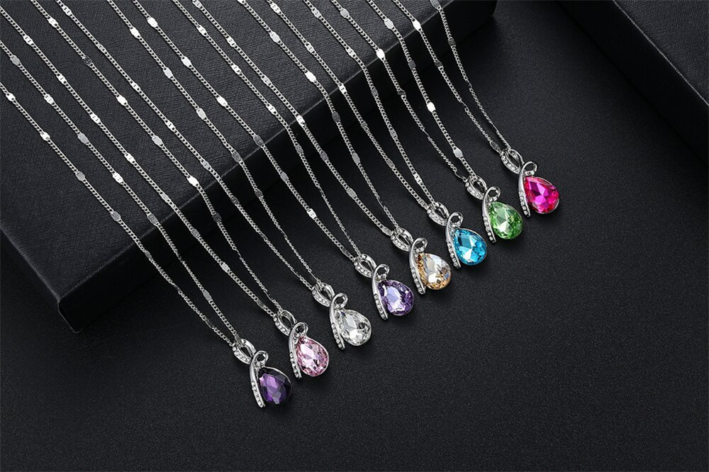 NS-CN106 Crystal necklace (5)