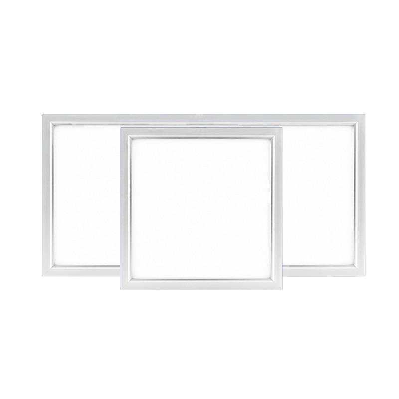 Led Lights Integrated Ceiling Panel Lights Ceiling Lights: Silver Ultra Thin Integrated Ceiling Flat Led Panel