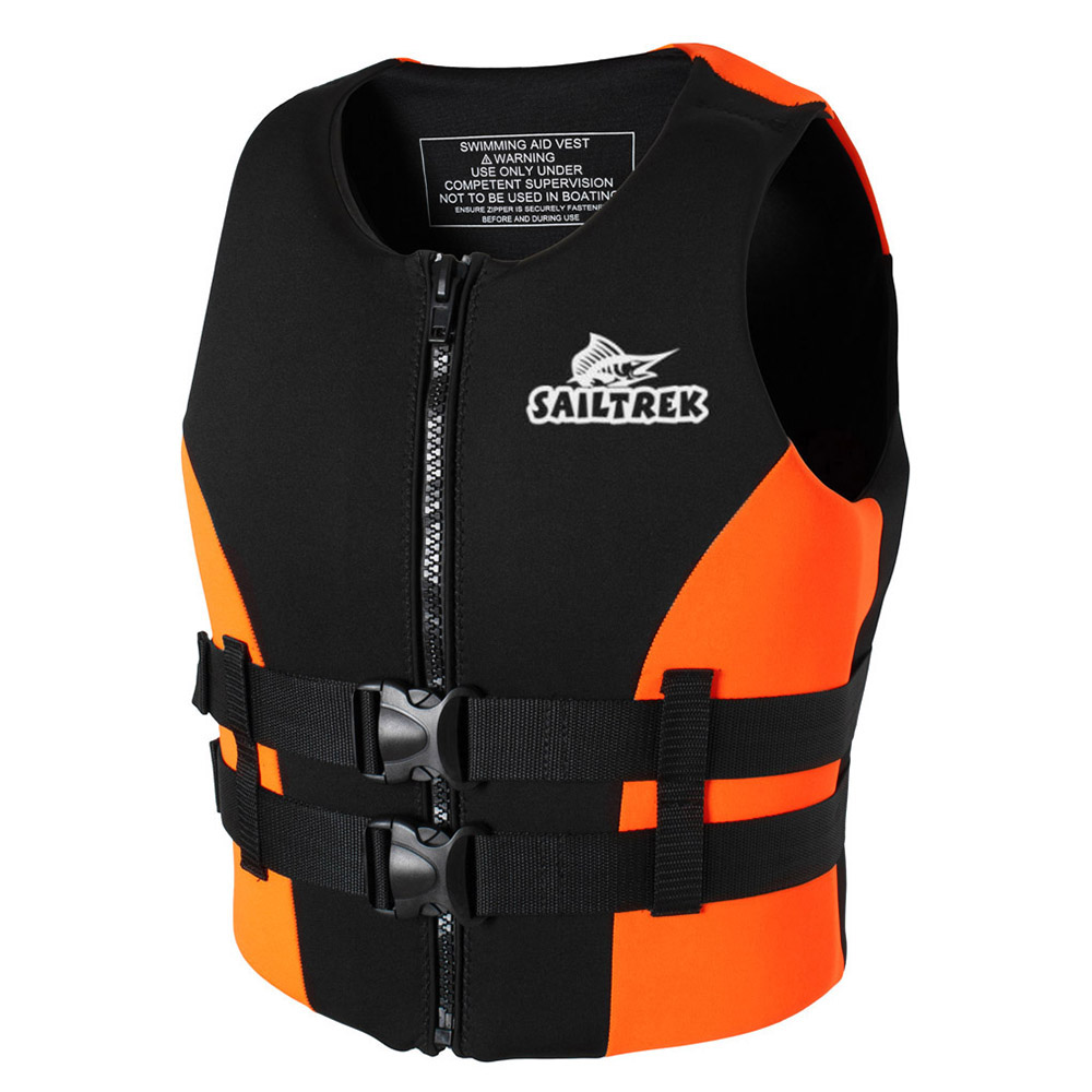 Neoprene Fishing Life Jacket Watersports Kayaking Boating Drifting Safety Life Vest