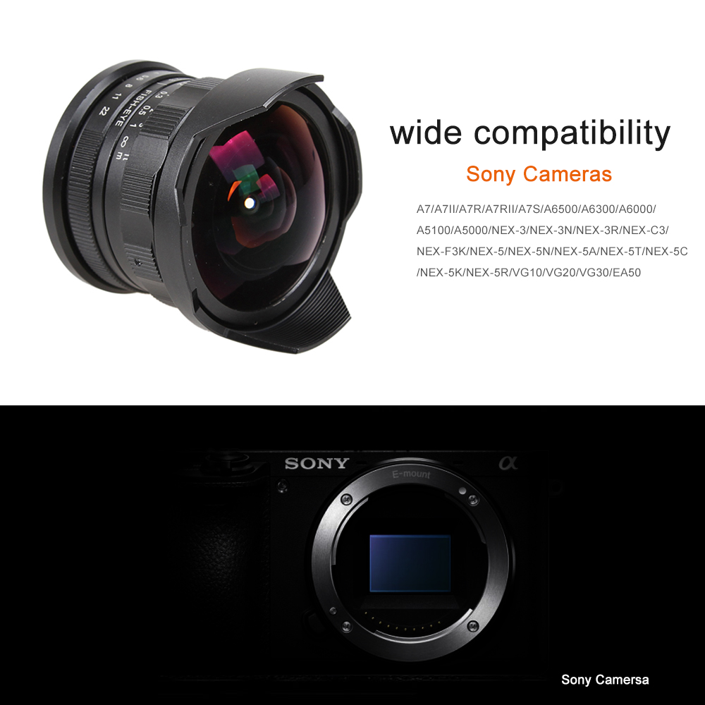 7 5mm f2 8 fisheye manual fish eye lens for sony nex f3 nex 5 nex 6 rh aliexpress com