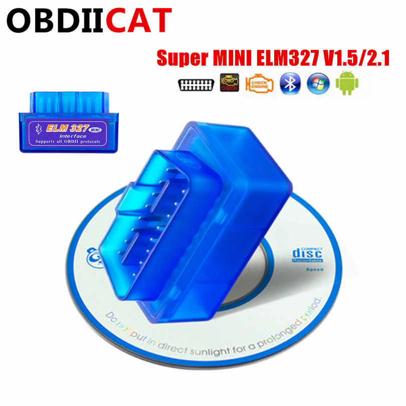 2019 Super MINI ELM327 Bluetooth V1.5/V2.1 With PIC18F25K80 Chip OBD 2/OBDII ELM 327 for Android Code Reader Diagnostic-tool
