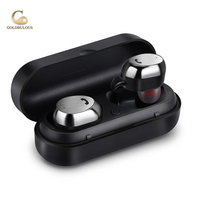 GBM9 TMS Bluetooth Earphone IPX7 Waterproof Bluetooth Headset Stereo Earbuds With Charger Box Mini Earphones For