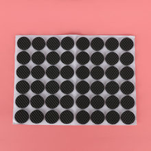 48Pcs/Bag Practical Non-slip Self Adhesive Furniture Rubber Feet Pads Protect Sofa Table Chair Floor Mat Round Sticky Pad(China)