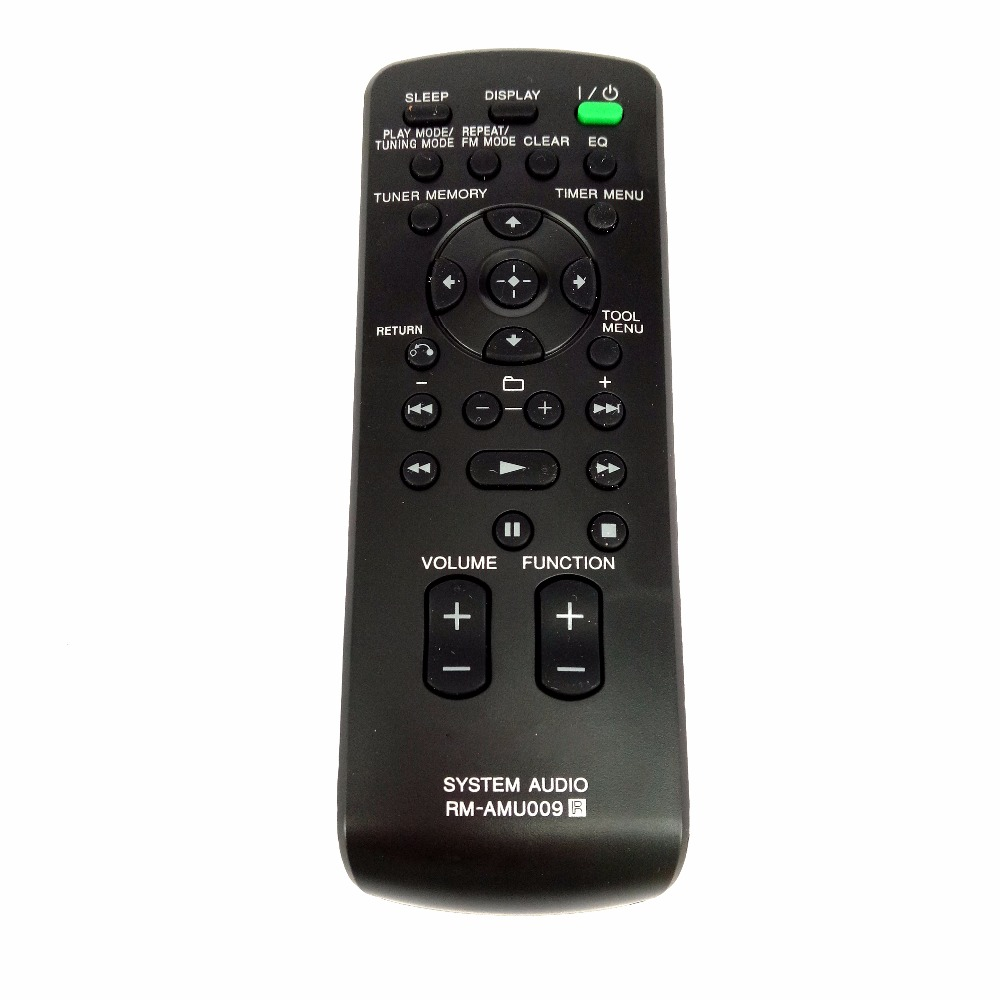 NEW Original for SONY RM-AMU009 RMAMU009 AUDIO SYSTEM Remote control FOR CMT-BX20I CMT-BX50BTI SYSTEMS Fernbedienung chunghop rm l7 multifunctional learning remote control silver