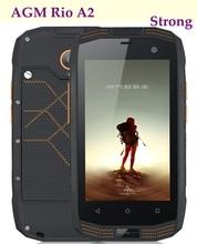 Original AGM A2 Rio Rugged Smart Phone 4.0″ 8MP Waterproof 1.1G QUAD Core 2GB RAM 16GB ROM 4G LTE IP68 Dual SIM NFC OTG WIFI