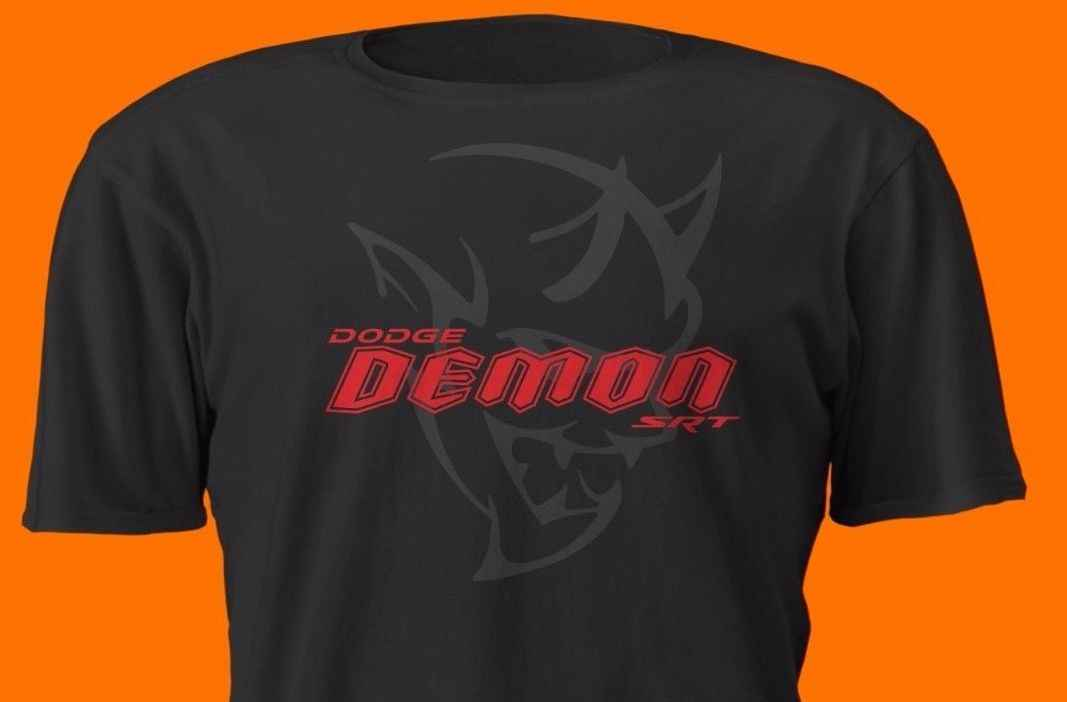 2019 Hot Sale Fashion American Car Challenger Srt Demon Red On Black T Shirt Charger Muscle Racer Car Tee Shirt Tee Shirt Car Shirtt Shirt Red Aliexpress