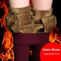 {Guoran} Invierno de las mujeres de Las Bragas de Cintura Alta De Terciopelo Grueso Pantalón Caliente Señoras Oficina de Trabajo Negro del Estiramiento Delgado Pantalones Pantalon Femme