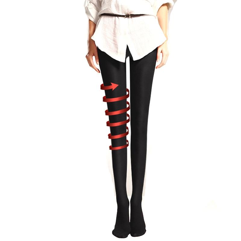 980ae52f4 2 piezas 480D adelgazamiento de alta elasticidad de medias de Nylon  pantimedias femeninas sin las ...