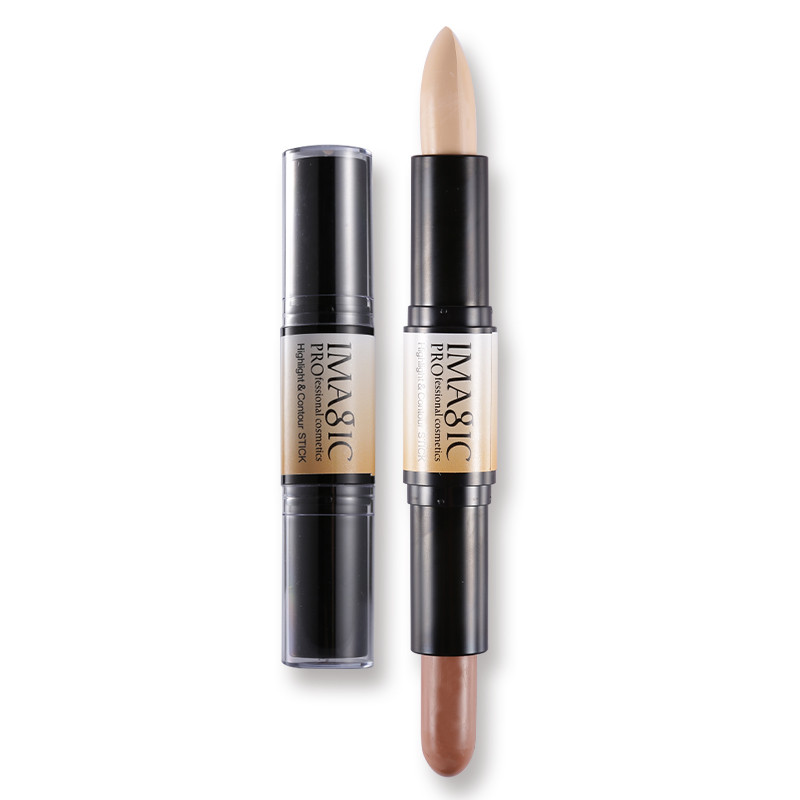 Shimmer Shine Highlighter Makeup Yayasan Illuminator Tongkat Kontur - Riasan - Foto 5