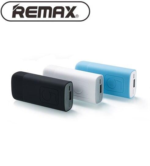 Original Remax RPL-25 5000 mAh Banco de la Energía de Carga Rápida Cargador de B