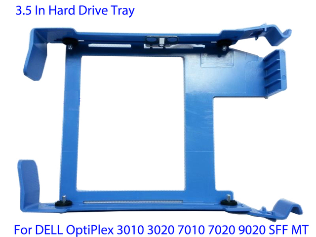 US $5 49 |Hard Drive Tray Caddy for Dell Optiplex Server 390 9010 3020 7020  9020MT T1700 T20 HD Cage Tray Caddy-in Computer Cables & Connectors from