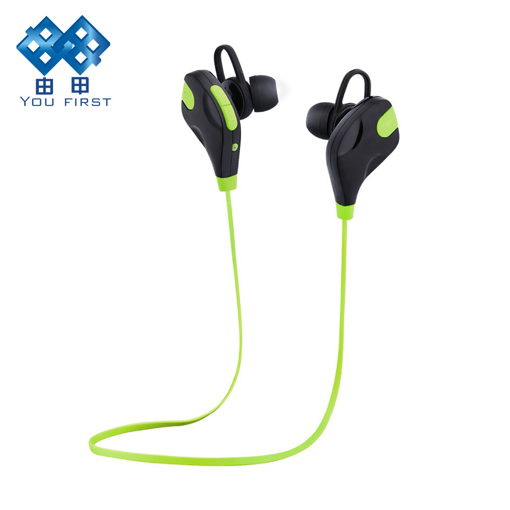 Bluetooth Earphone Wireless Sport Running Headset Stereo In Ear Handsfree Earphones With Mic for iphone Xiaomi Samsung MP3 high quality 2016 universal wireless bluetooth headset handsfree earphone for iphone samsung jun22