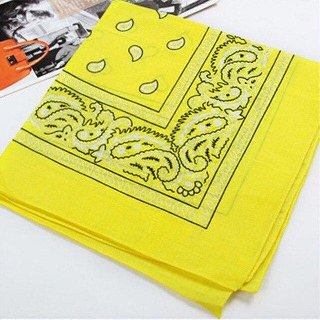 Handkerchief Women Cotton Head Wrap Paisley Head Wrap Neck Scarf Wristband Handkerchief