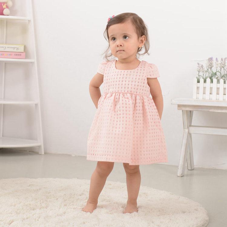 Vasaros kūdikių mergaičių suknelė, mada plona princesė - Kūdikių drabužiai - Nuotrauka 5