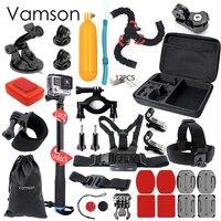 Gopro Accessories Kit Go Pro Kit Mount SJCAM SJ4000 SJ5000 SJ6000 For Gopro Hero 5 4