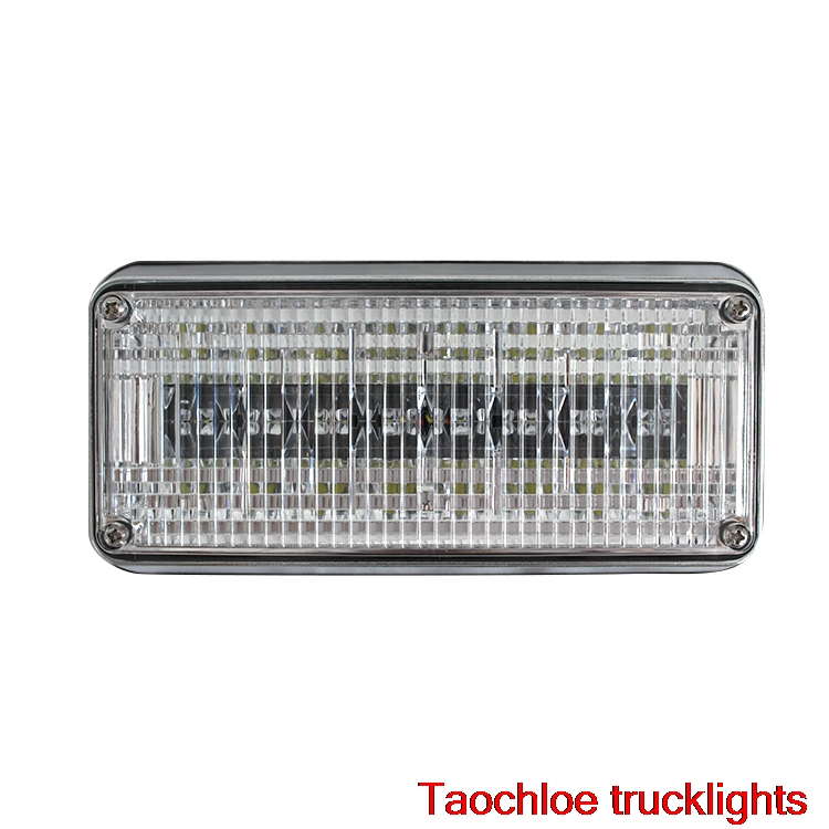 1x 12v 24v led flashing strobe lights lights  for ambulance pumper engines lamps police patrol Perimeter light 198x90x38mm 738-in Car Light Assembly from Automobiles & Motorcycles    2