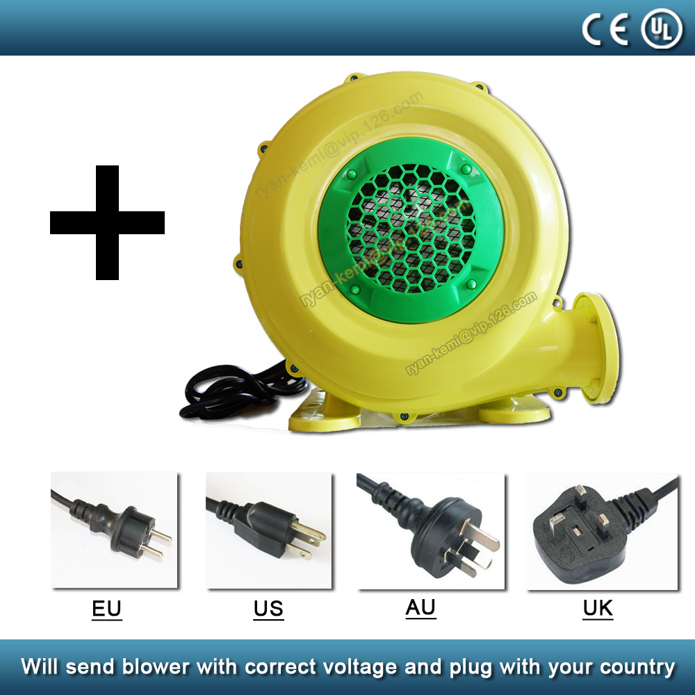 blower for inflatable movie screen