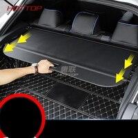 Black Rear Trunk Security Shield Cargo Shelf Shade Cover 1 set for Toyota CHR C HR 2016 2017 2018