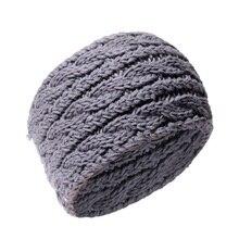 1PC Winter Turban Headbands Women Ear Warmer Wide Hair Bands Twist Knitted Headband Head Wrap for Accessories