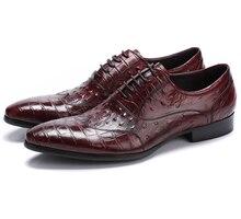 Grande tamanho EUR45 serpentine preto/marrom bronzeado oxfords sapatos sapatos de couro genuíno dos homens de negócios vestido sapatos sapatos de casamento do mens