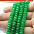 5x8 мм Светло-зеленый авантюрин джаспер abacus формы loose бусы 15 дюймов высокое качество DIY женщины ювелирные изделия решений бесплатная доставка