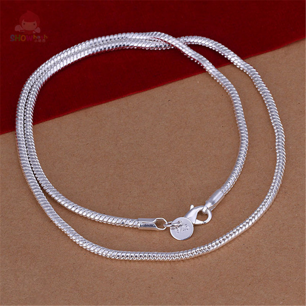 Trendy Style Generous Design 22 Inches Snake Chain Man Chains ...