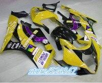 Injection Hey Yellow black GSX R1000 03 04 GSXR1000 GSXR 1000 03 04 Yellow GSX R1000 2003 2004 GSXR 1000 Fairing for Suzuki