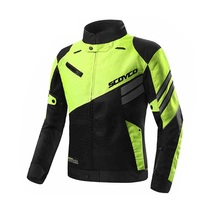 Free shipping 1pcs Men Motorcycle Racing Suits Motorcycle Jacket Night Reflective Clothes with 5pcs pads