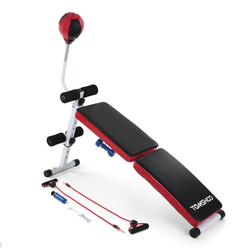 Online Shop Adjustable Folding Decline AB Bench Sit Up Abdominal Bench  Press Train Home Gym Exercise Bench With Speed Ball Fitness Equipment |  Aliexpress ...