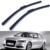 """1 par de 22 """"acessórios do carro bracketless windshield wiper blade borracha macia lâmina braço para audi a4 s4 rs4 (2003-2008)"""