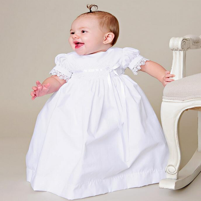 2017 New Flower Girls Dresses For Wedding Gowns Ankle-Length Baby Girl Clothes Lace Christmas Dresses for Communion Baptism цены онлайн
