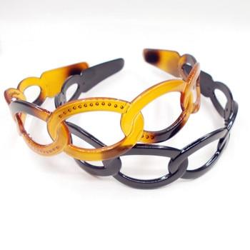 Women Hair Accessories Lady Black Plastic Hairband wide women s girls  Headband free shipping 9194832893a5