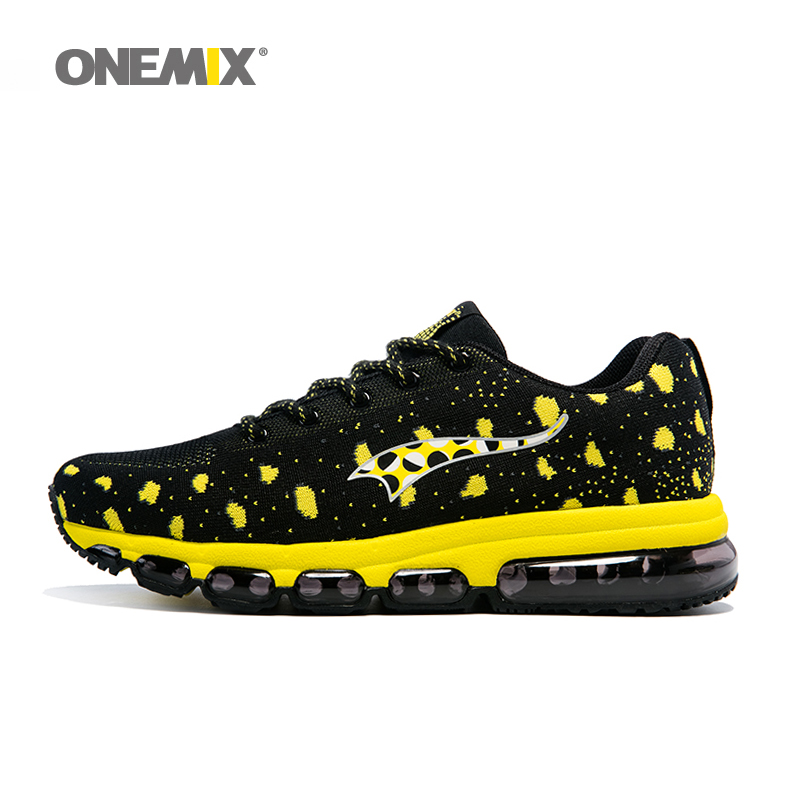 Onemix 2017 New Women's Sport Sneakers Knitting Outdoor Men Running Shoes Unisex Jogging Shoes Male Athletic Trainers size 35-46 peak sport speed eagle v men basketball shoes cushion 3 revolve tech sneakers breathable damping wear athletic boots eur 40 50