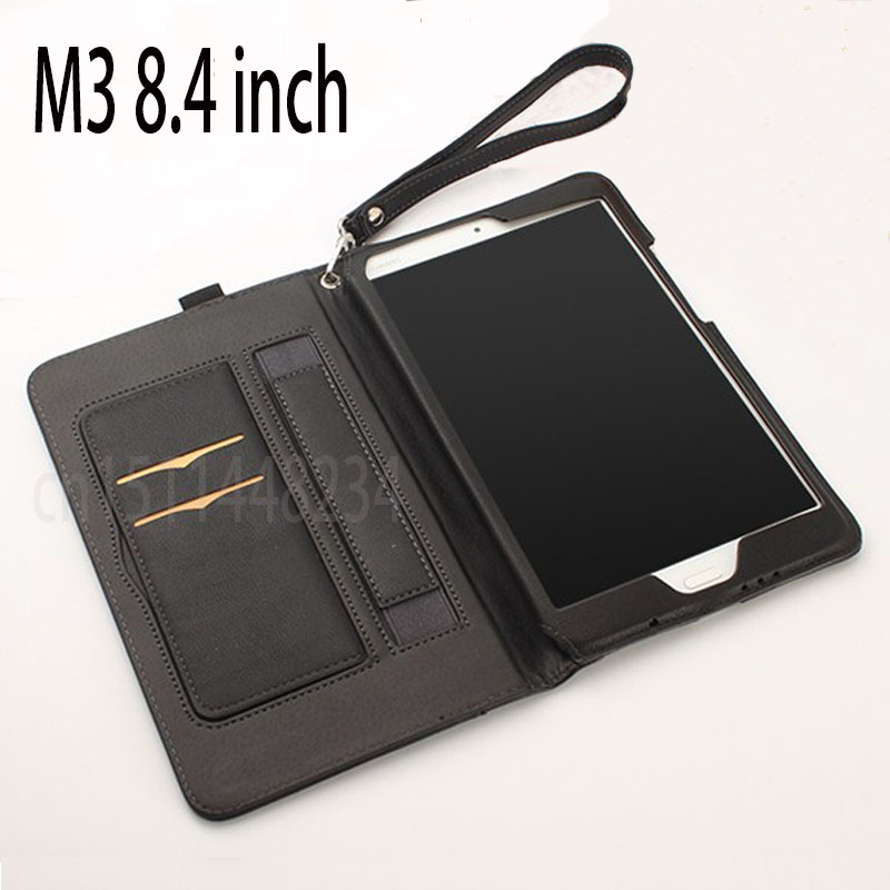 Business style high quality PU Leather Case For Huawei MediaPad M3 8.4 BTV-W09 BTV-DL09 8.4 inch Smart Sleep Cover Stand Tablet for huawei mediapad m3 8 4 multifunction removable wireless bluetooth keyboard case for huawei m3 btv w09 btv dl09