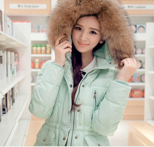 Abrigo largo de plumas mujer
