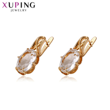 hot deal buy 11.11 deals xuping for women trendy earrings wild style crystals from swarovski fashion gold-color plated jewelry s143.4-93951