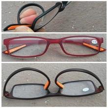 Очки для чтения женщины и мужчины унисекс кадр красно-коричневый черный и lucency объектив + 100 + 150 + 200 + 250 + 300 + 350 + 400 градусов(China (Mainland))