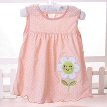 Baby Girls Dresses Flower Printed Clothes