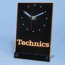Technics logo Table / Desk 3D LED Clock