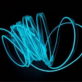 Voiture Style Bricolage Froid RGB Lumière LED Voiture Intérieur Néon Bande Lumière Son Actif Bluetooth Téléphone Contrôle Pour Moto Et Voitures