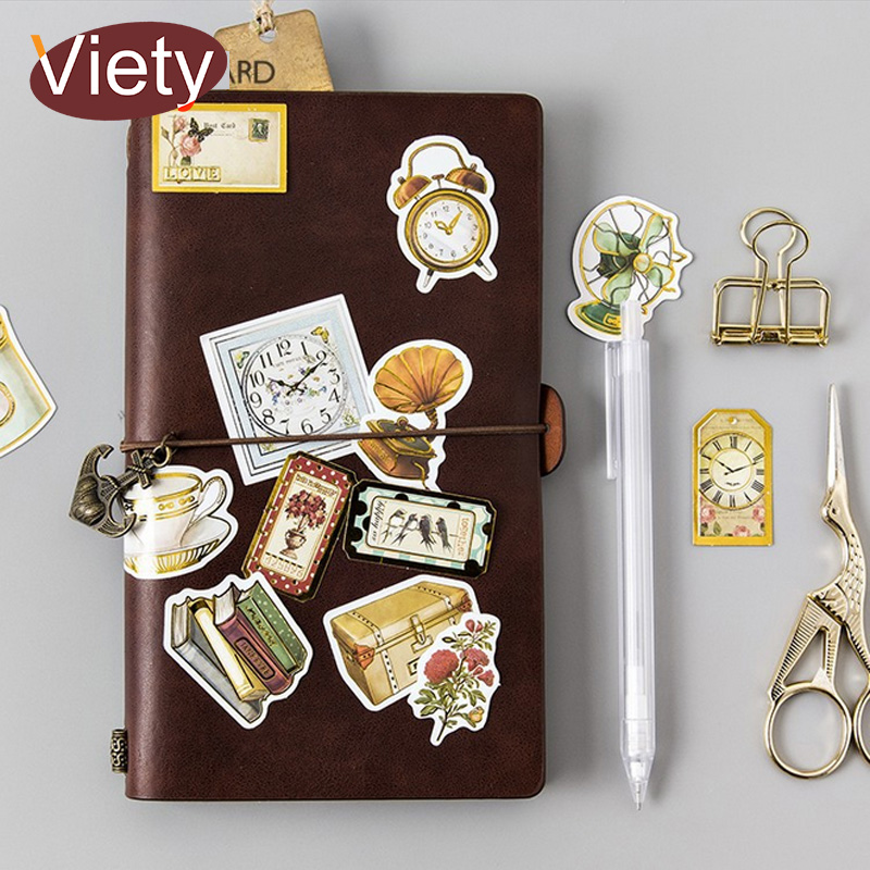 45 pcs/lot Vintage stamps sundries mini paper sticker DIY diary planner decorative sticker album scrapbook stationery