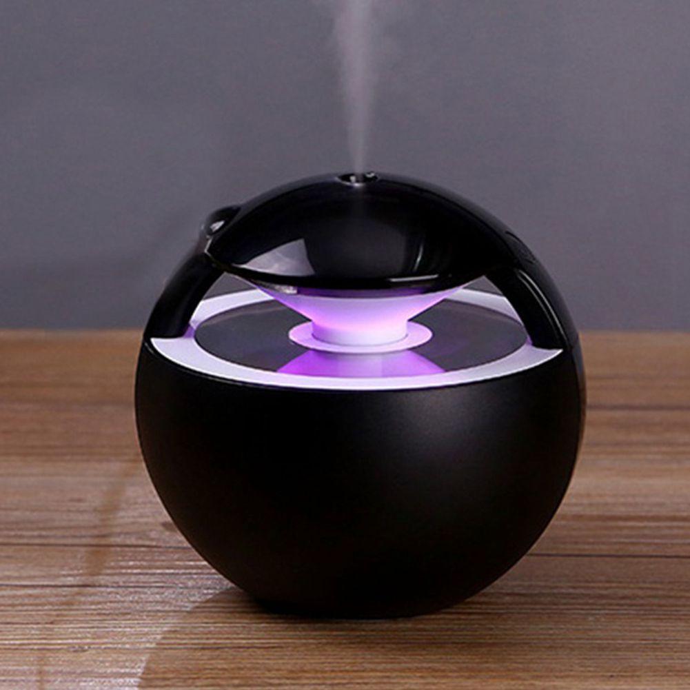 450ML Incense Burners Ball Humidifier With Aroma Lamp Essential Oil Ultrasonic Electric Aroma Diffuser Mini USB Air Humidifi