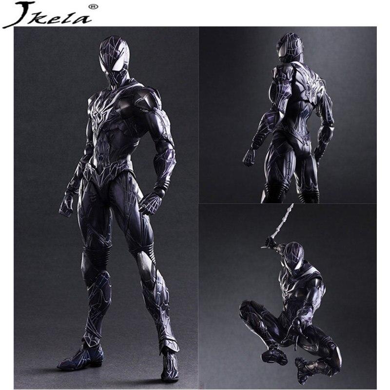 [Jkela] marvelING Avengers Infinity War Super Heroes spiderman Model PVC Action Figure Toy Dolls Toy 26cm LegoINGly