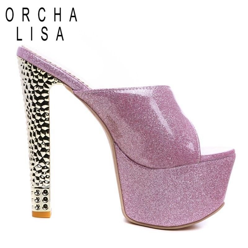 Partie Marque C445 Toe Peep À Lisa Pantoufles Zapatos Orcha forme gold Plate Mujer Hauts D'été De red Femmes Purple silver Talons Sandales Chaussures qpUZ6ZnC0