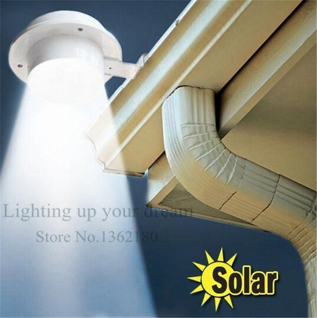 2016 LED Solar Lamp Sensor Waterproof Solar Light 3 LEDs Street Light Outdoor Path Wall Lamp Security Spot Lighting path light