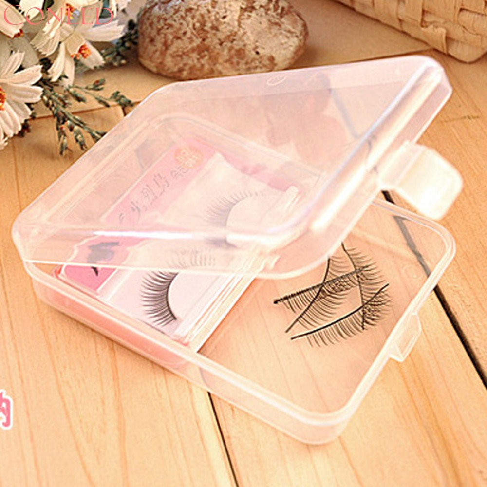CONEED Solid Cosmetic Bags False Eyelashes Case Storage Mirror Box Eye Lashes Magnetic And Non Magnet Juy21 spark storage bag portable carrying case storage box for spark drone accessories can put remote control battery and other parts